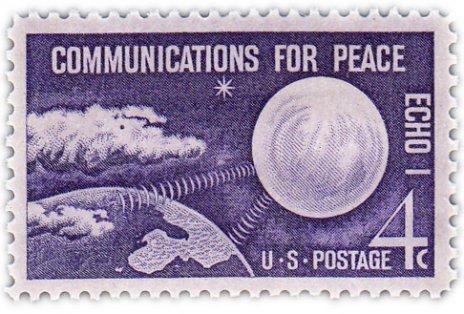 """купить США 4 цента 1960 """"Эхо 1"""""""