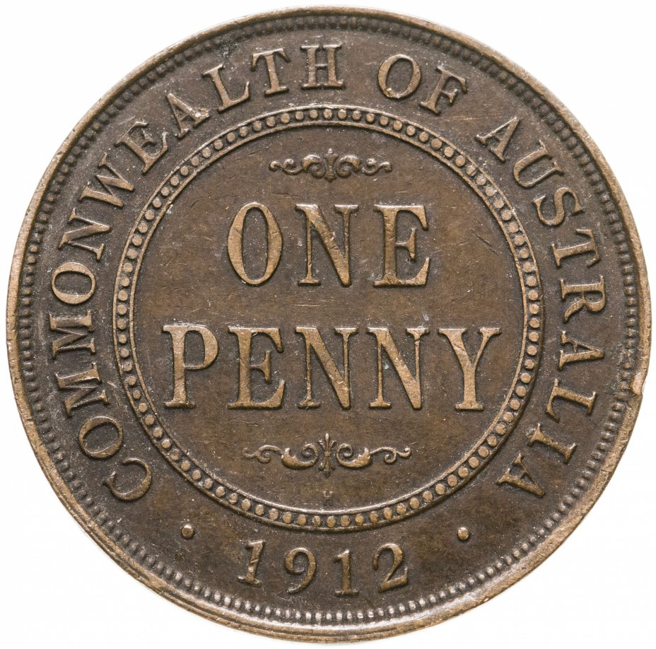 купить Австралия 1 пенни (penny) 1912