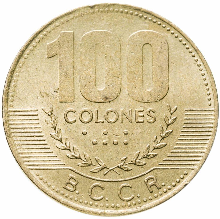 купить Коста-Рика 100 колонов (colones) 1998