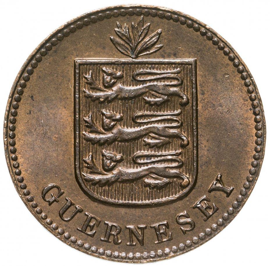 купить Гернси 1 дубль (double) 1911