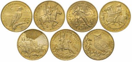 купить Польша набор из 7 монет 2005-2014