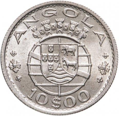 купить Португальская Ангола 10 эскудо (escudos) 1952