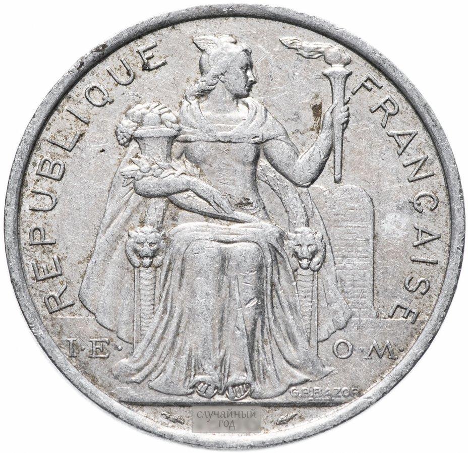 купить Новая Каледония 5 франков 1983-2018, случайная дата
