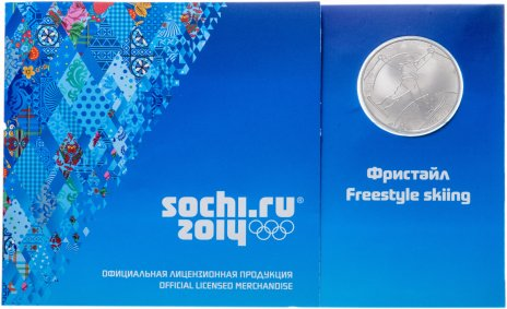 купить Медаль Сочи 2014 Фристайл