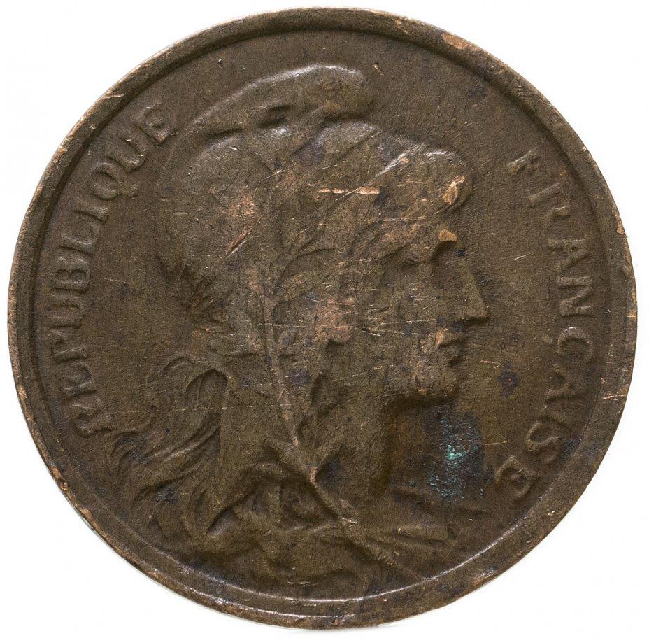 купить Франция 1 сантим (centime) 1911