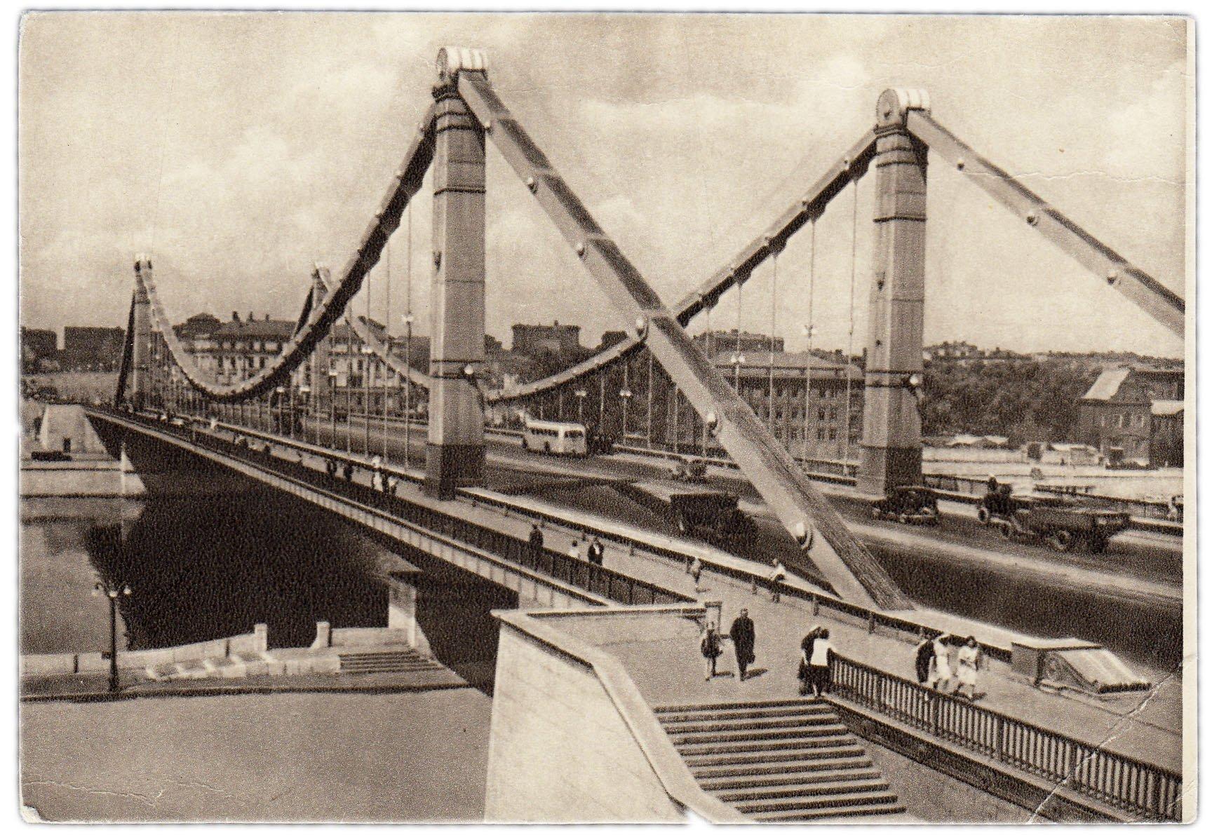 Фон, открытка крымский мост