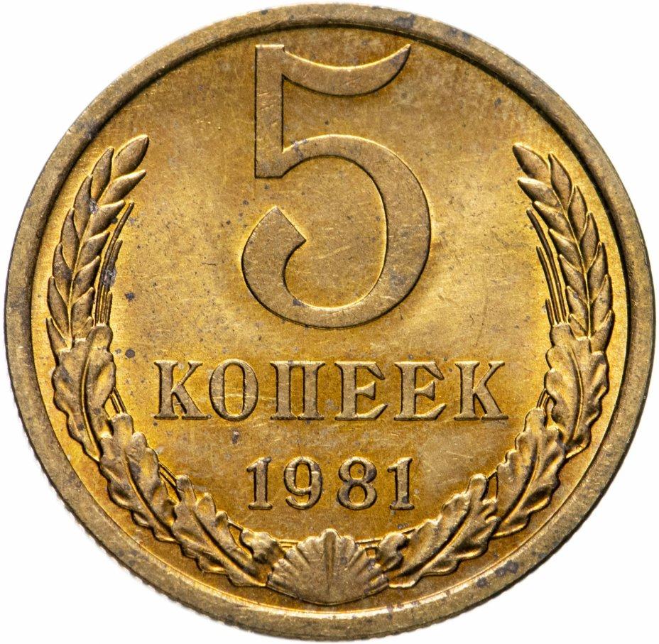 купить 5 копеек 1981
