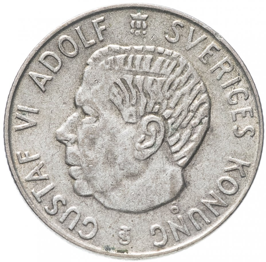 купить Швеция 1 крона 1960