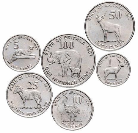 купить Эритрея набор из 6 монет 1997
