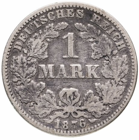 """купить Германия 1марка 1876 A   знак монетного двора: """"A"""" - Берлин"""