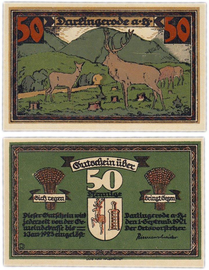 купить Германия (Саксония: Дарлингероде) 50 пфеннигов 1921 (258.1/B1)