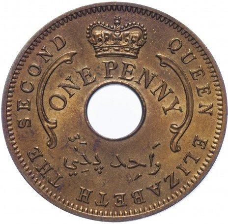 купить Нигерия 1 пенни 1959
