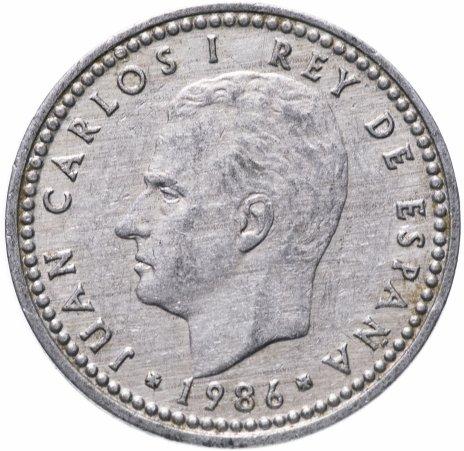 купить Испания 1 песета случайный год (1982-1989)