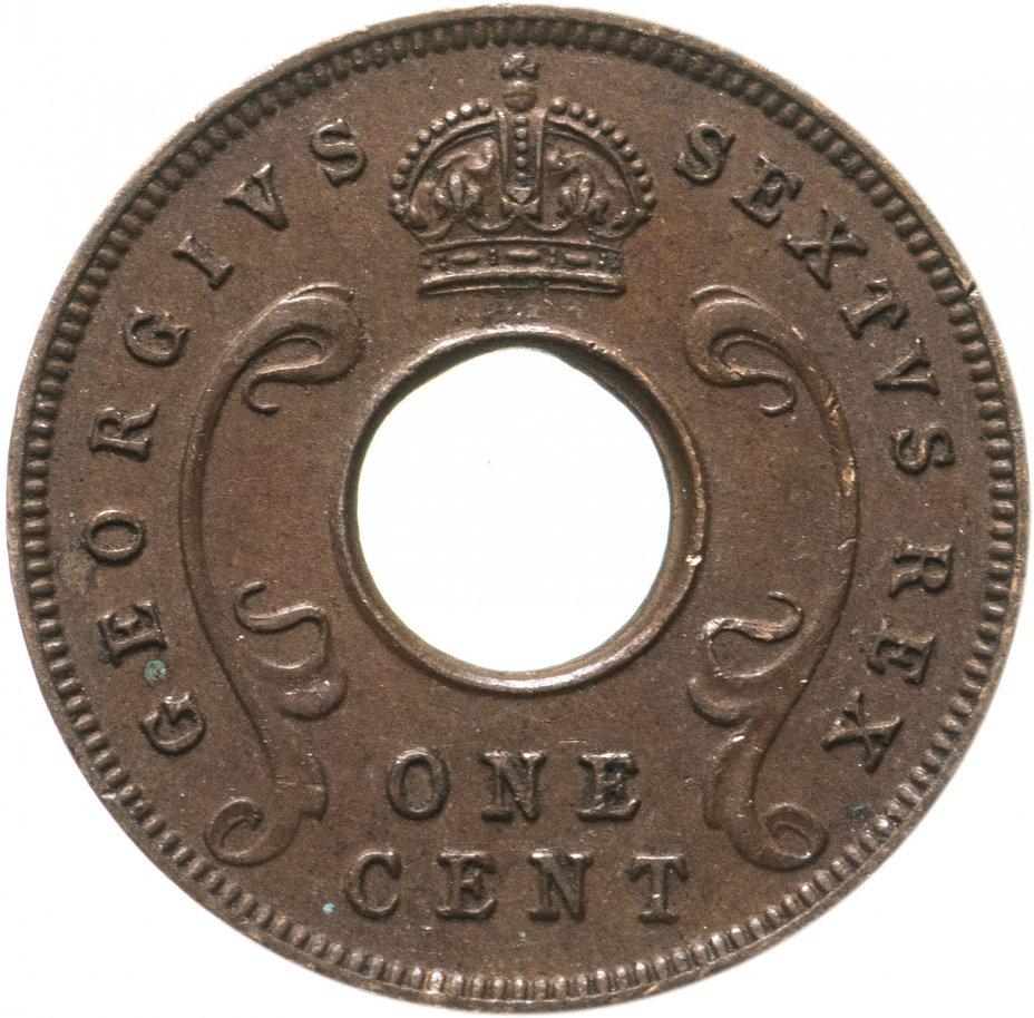 купить Британская Восточная Африка 1 цент (cents) 1950