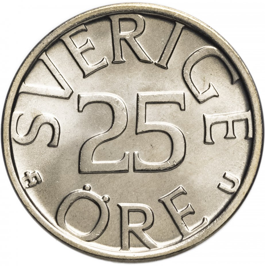 купить Швеция 25 эре 1979