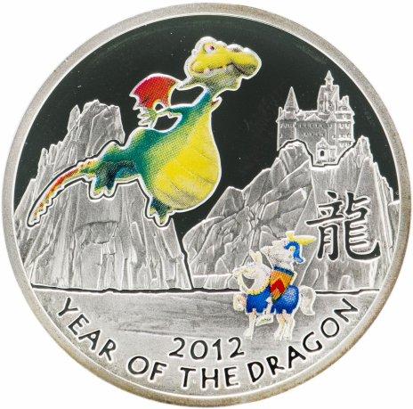 купить Ниуэ 1 доллар 2012 «Сказочный дракон»