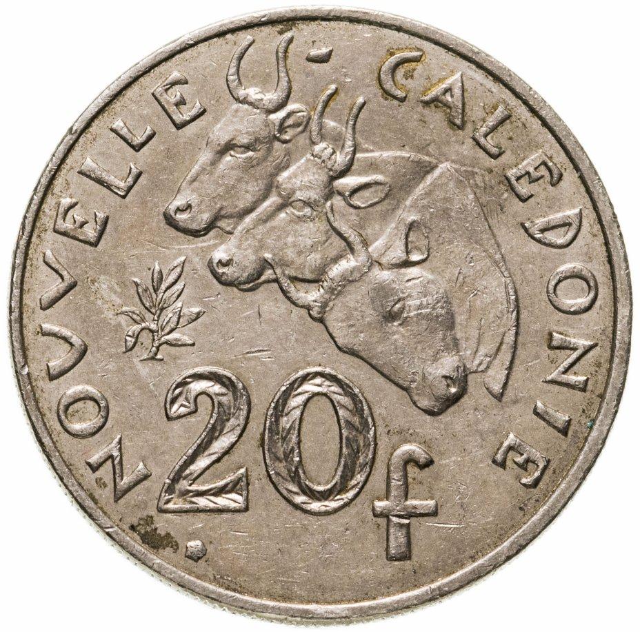 купить Новая Каледония 20 франков (francs) 2006-2018, случайная дата