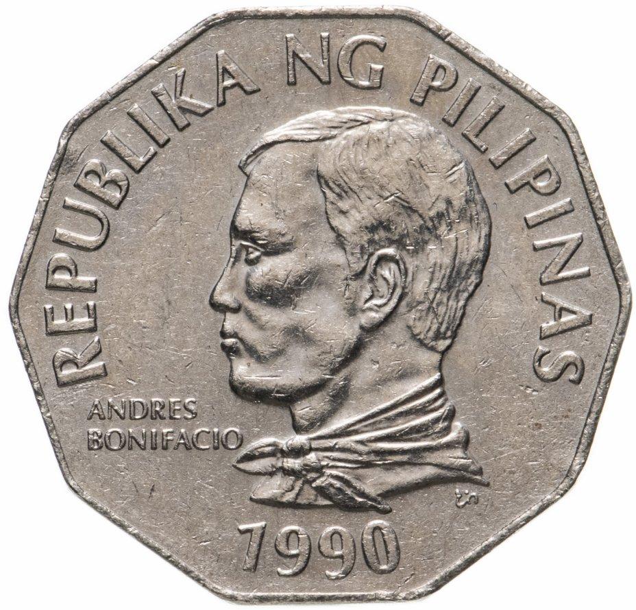 купить Филиппины 2 песо (piso) 1990