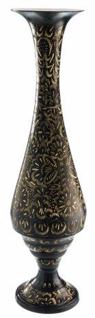 купить Ваза декоративная в восточном стиле, латунь с гравировкой, Индия, 1970-1990 гг.