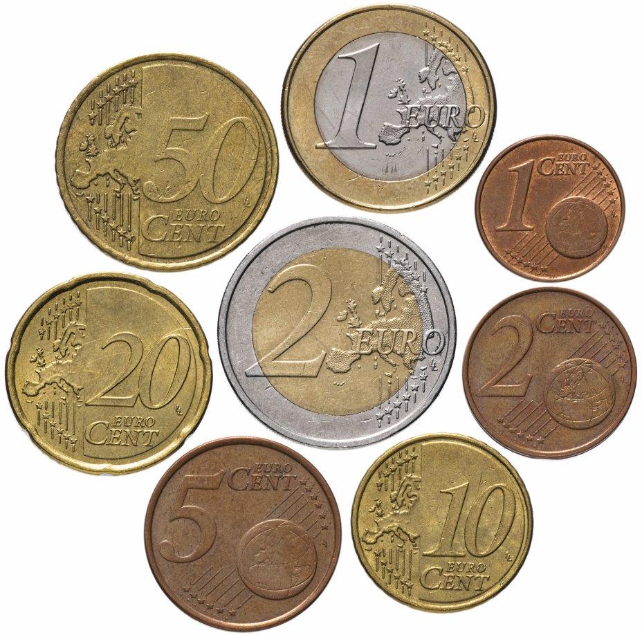купить Кипр полный годовой набор евро для обращения 2008 (8 штук, VF-XF)