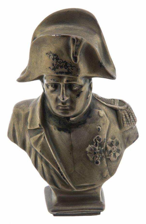 """купить Бюст """"Наполеон Бонапарт"""", бронза, Западная Европа, 1960-1980 гг."""