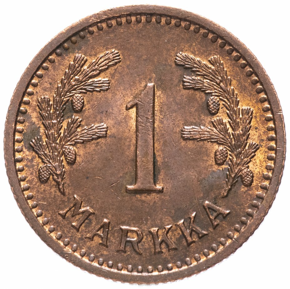 купить Финляндия 1 марка 1941