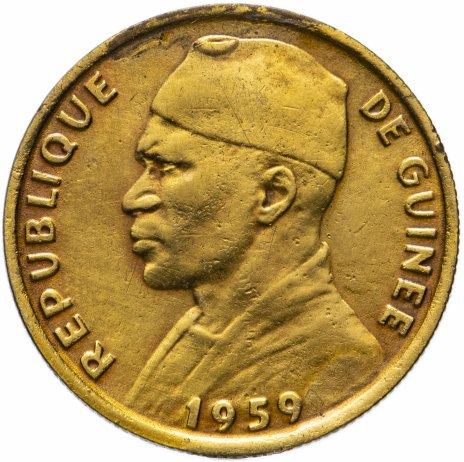 купить Гвинея 10 франков 1959