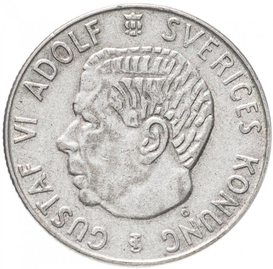 купить Швеция 1 крона 1961 TS