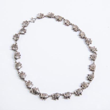 """купить Бусы """"Слоники"""", серебро (925 пр.), Индия, 1990-2010 гг."""