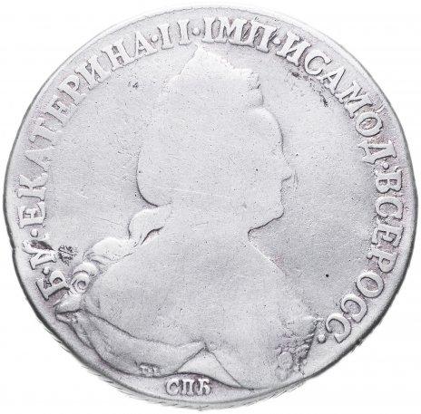 купить 1 рубль 1783(1784) года СПБ-TI-ММ