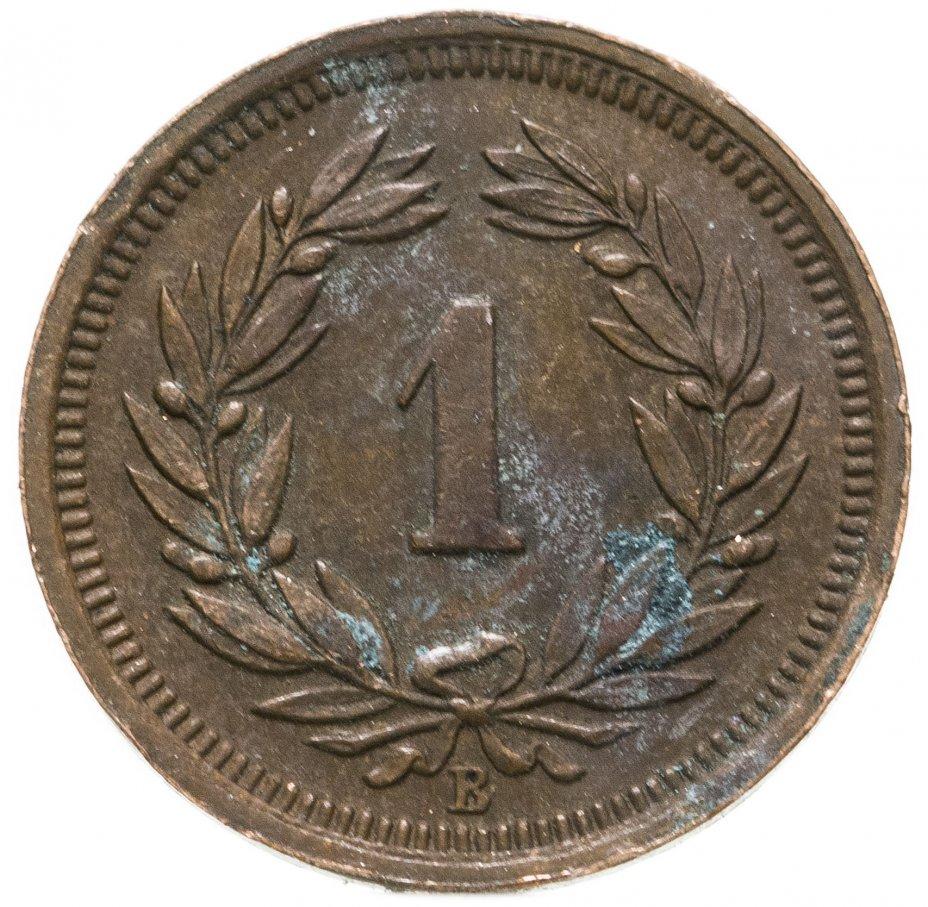 купить Швейцария 1 раппен (rappen) 1933