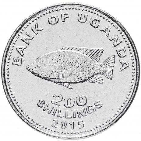 купить Уганда 200 шиллингов 2015 Рыба