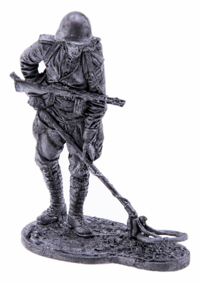 купить Оловянный солдатик, Рядовой сапёрных частей Красной Армии с миноискателем, Россия, 2021