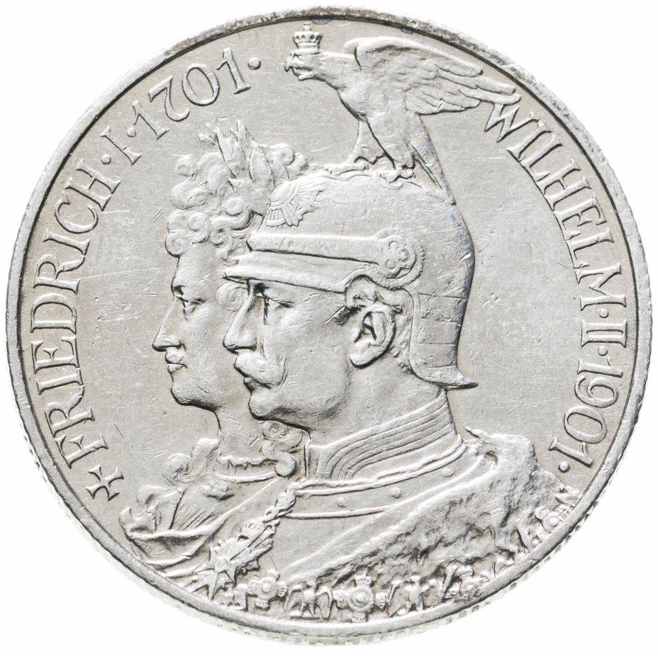 """купить Германия (Империя), Пруссия 2 марки (mark) 1901 """"200 лет Пруссии"""""""