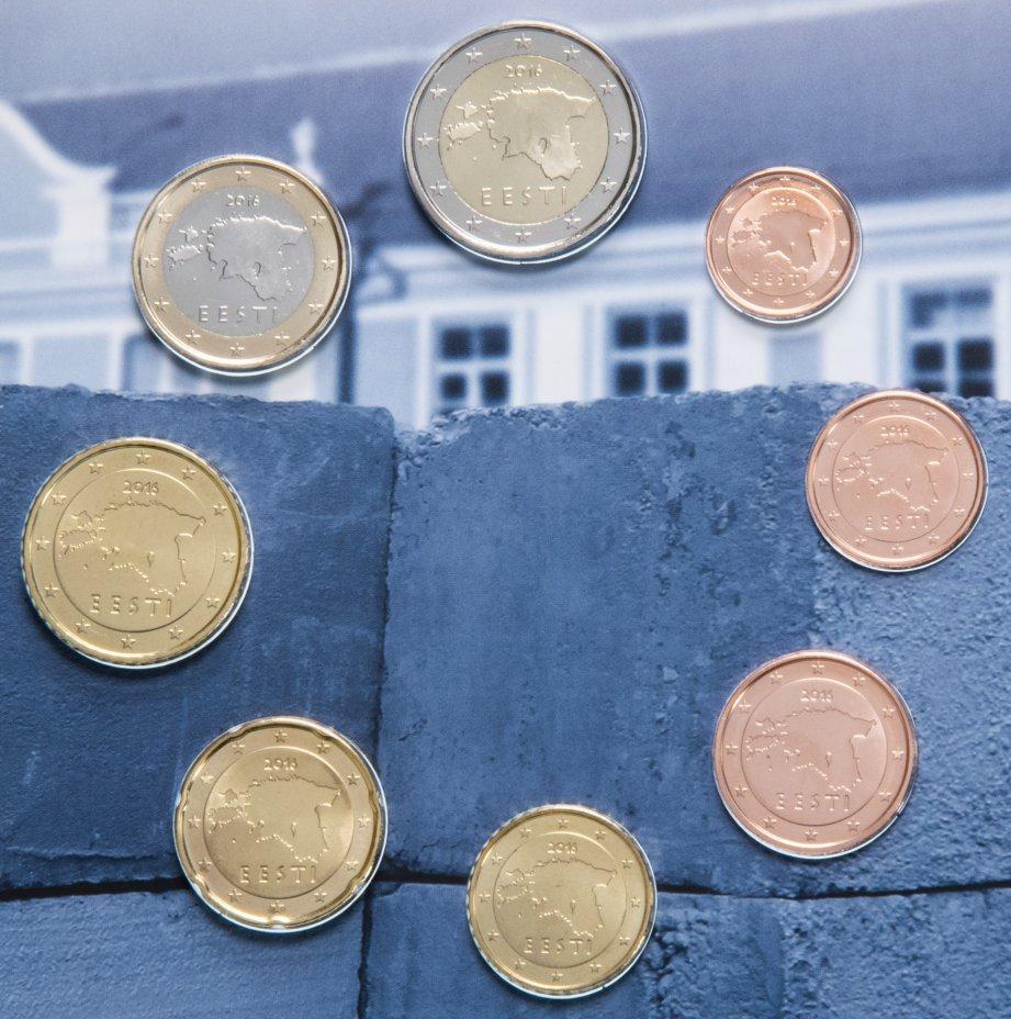 купить Эстония годовой набор евро 2016 (8 монет в буклете)