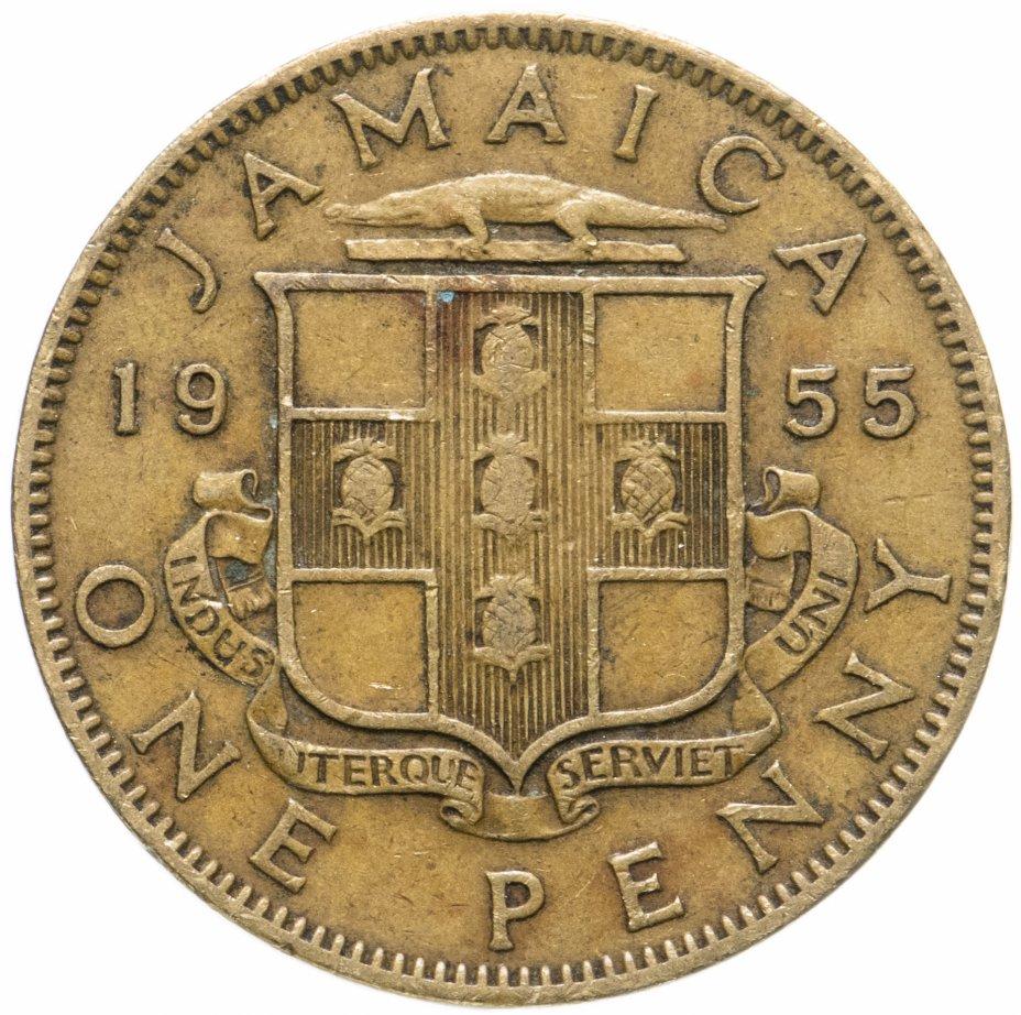 купить Ямайка 1 пенни (penny) 1955