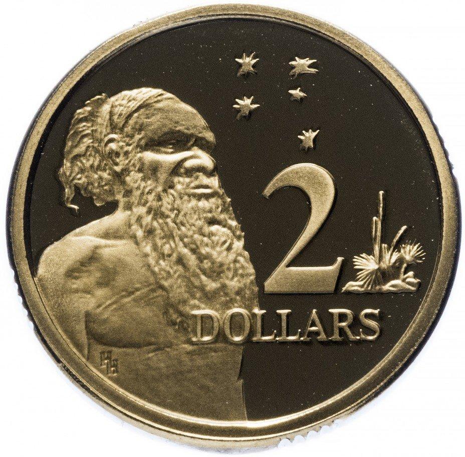 купить Австралия 2 доллара 1989 Proof