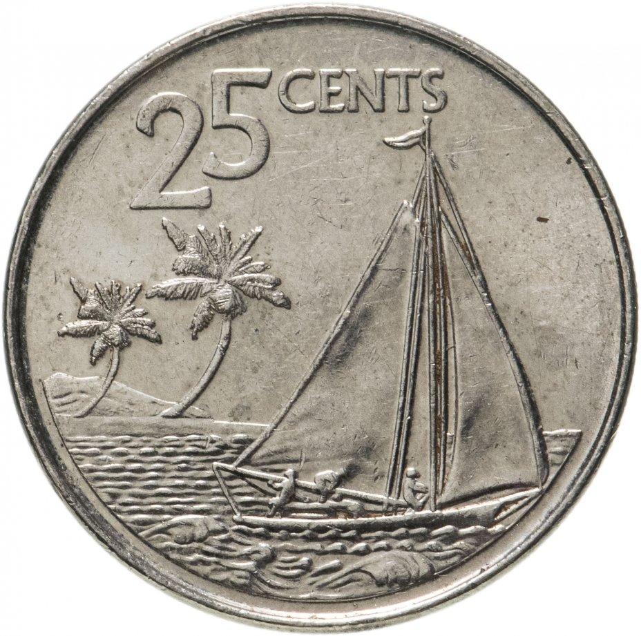 купить Багамы 25 центов (cents) 2007-2015, случайная дата