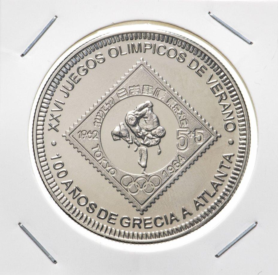 купить 1000 франков (francs) 1996   100 лет Олимпийским играм, Сеул 1988  Экваториальная Гвинея