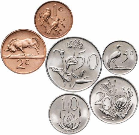 купить ЮАР набор из 6 монет 1972