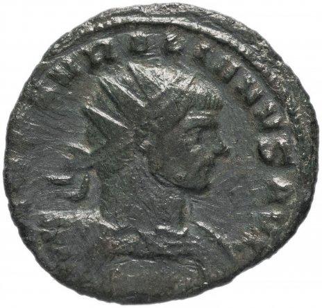 купить Римская Империя Аврелиан 270-275 гг антониниан (реверс: неясные очертания человеческой фигуры)