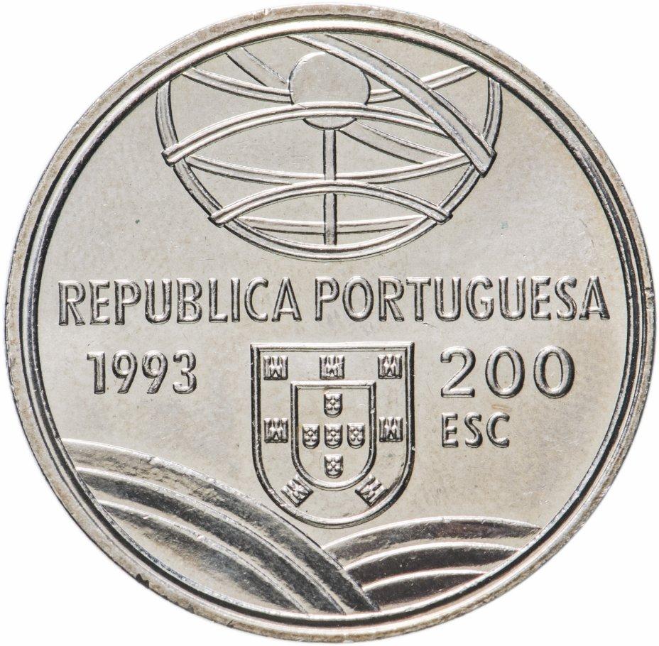 купить Португалия 200 эскудо 1993   Спрингальд - механическое устройство артиллерии
