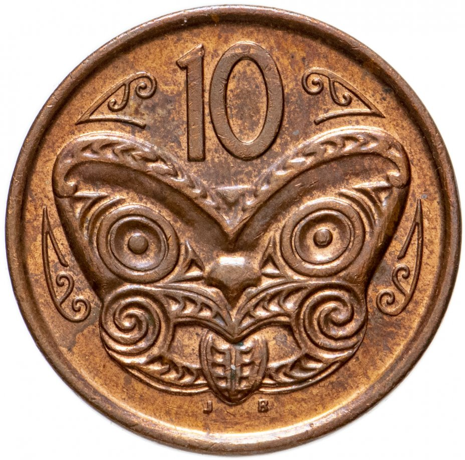 купить Новая Зеландия 10 центов (cents) 2006-2021, случайная дата