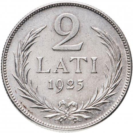 купить 2 ЛАТА 1925 Г. ЛАТВИЯ