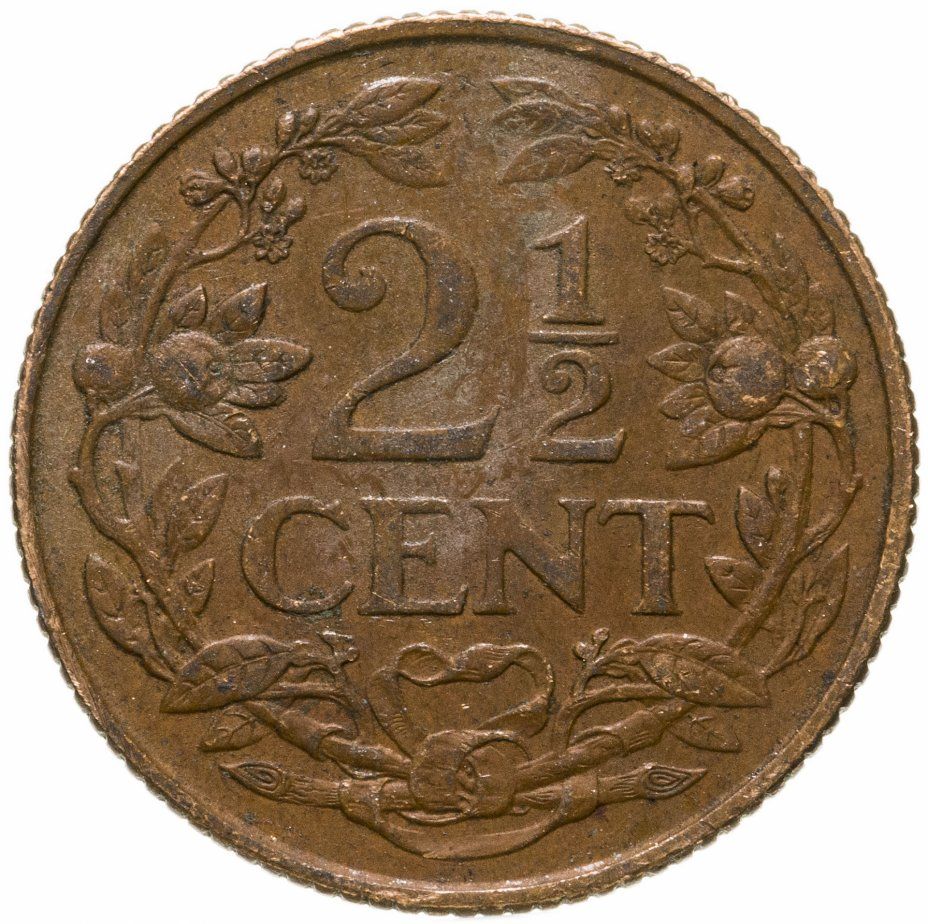купить Нидерландские Антильские острова 2 1/2 цента (cent) 1959