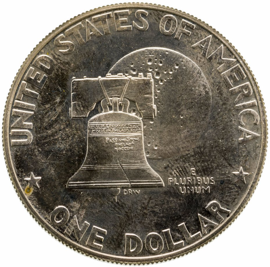 """купить США 1 доллар (dollar) 1976 S 200 лет независимости США знак монетного двора """"S"""" - Сан-Франциско"""