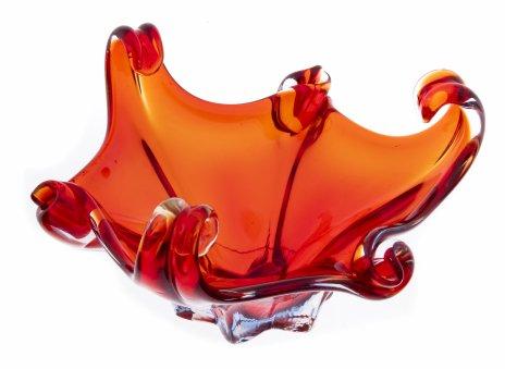"""купить Ваза (конфетница) """"Медуза"""", стекло, Западная Европа, 1970-2000 гг."""