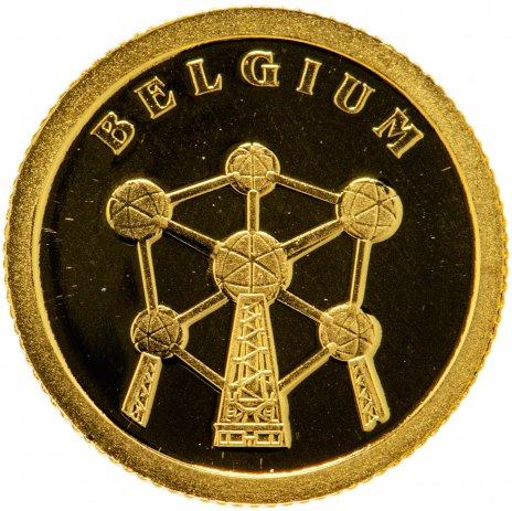 """купить Либерия 12 долларов 2008 """"Европейские страны -  Бельгия"""""""