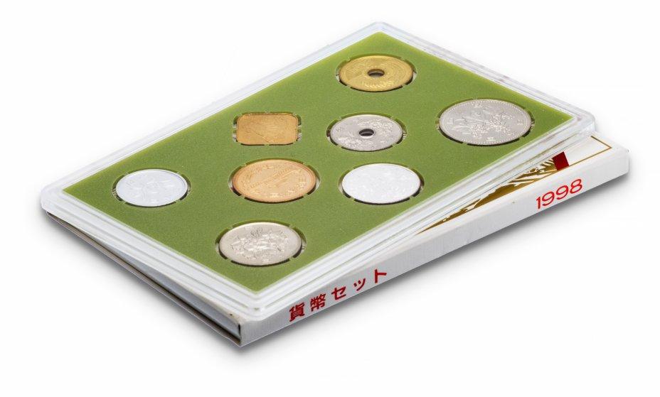 купить Япония Годовой набор монет 1998 (6 монет + жетон)