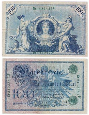 купить Германия 100 марок 1908 (Pick 34)